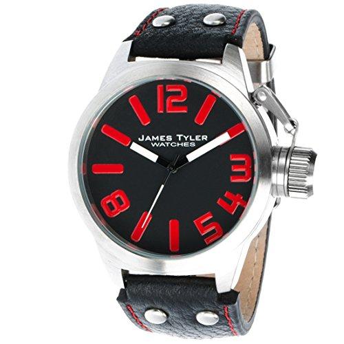 WerkEdelstahl ArmbanduhrQuarz Herren James 3 Tyler GebürstetJt702 mNnyO0wvP8